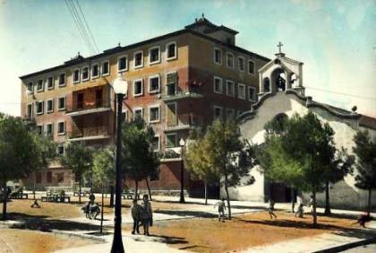plaça sant francesc xavier anys 60