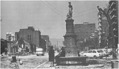 plaça victor balaguer - 1969 - ronda del mig