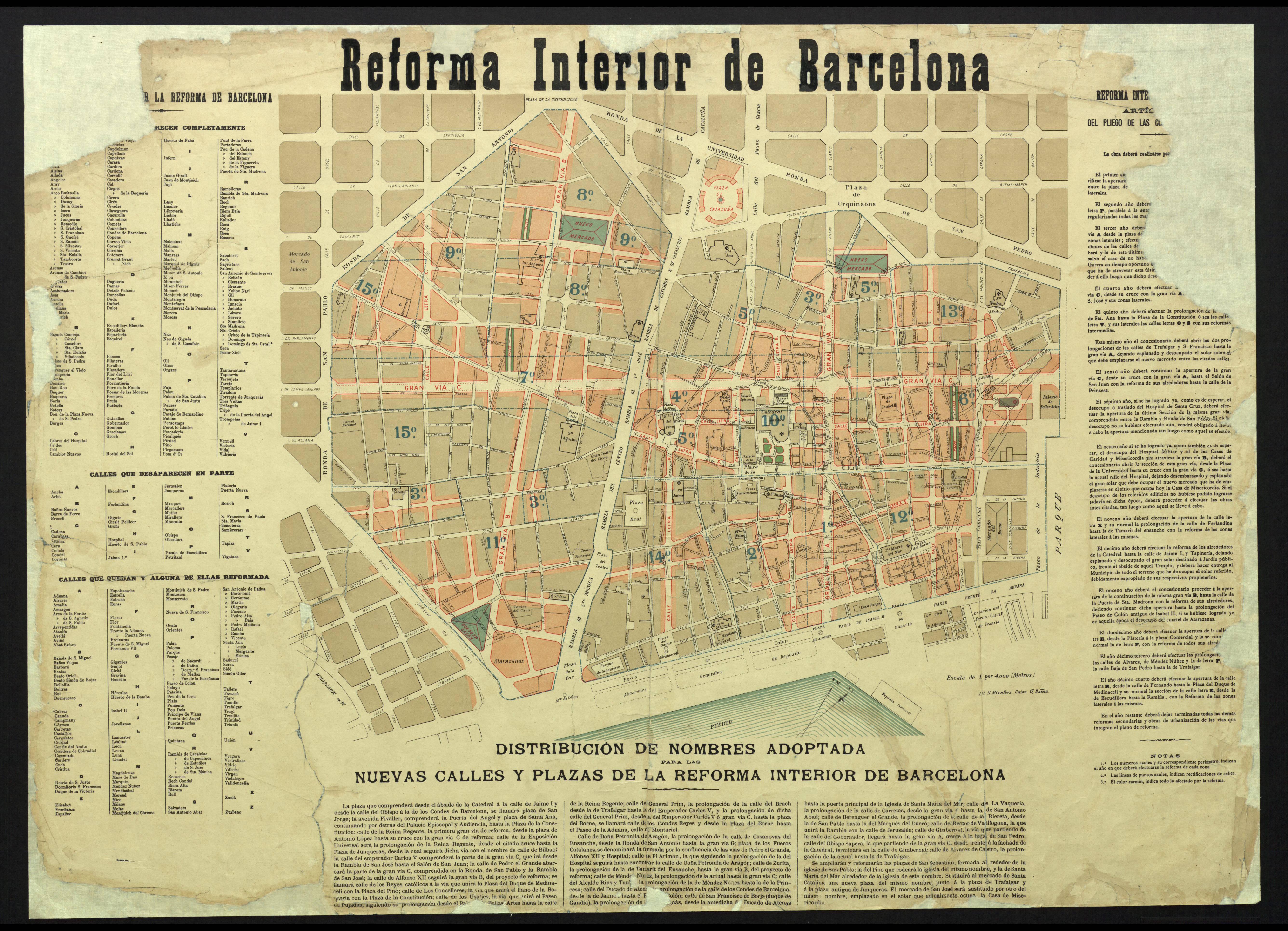 Amb l excusa d eixamplar la ciutat pladebarcelona for Escoles de disseny d interiors a barcelona