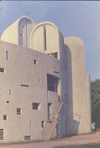 Le Corbusier - Capella de Nôtre-Dame-du -Haut -  Ronchamp - detall 2