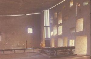 Le Corbusier - Capella de Nôtre-Dame-du -Haut -  Ronchamp - detall 4