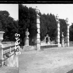 Els jardins de can Gomis - 1920