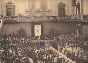 palau de belles arts, inauguració