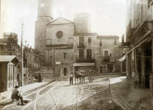 antiga sagrera de Sarrià - 1905
