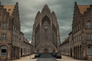 Copenhagen - Grundvig Memorial Church - 1940 (1)
