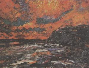 Nolde, Emil - Mar de tardor XI - 1910