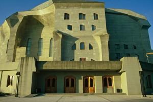 Steiner, Rudolf - Zweites Goetheanum - façana - Dornach - 1924