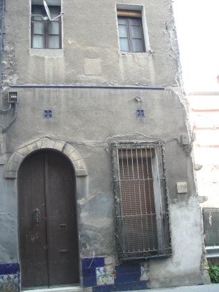 Finca de l'Av.Vallcarca, 51 - façana posterior del c.Simon Bolivar