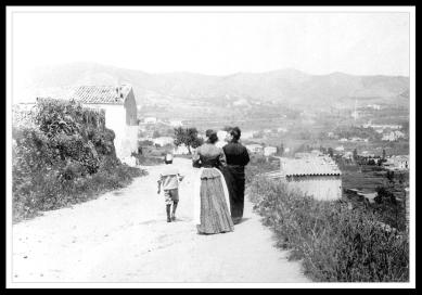 Camí dels Àngels, del Coll a Sant Genís, per la Taxonera