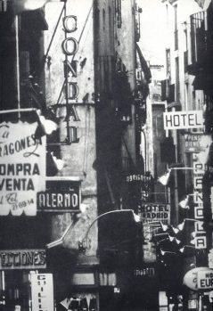carrer boqueria, 1960