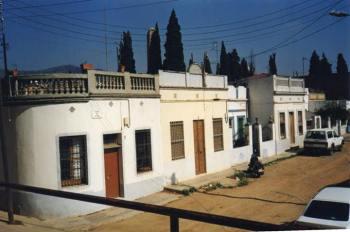 Carrer Llívia, 1985, prop del Cementiri de Sant Andreu, avui aparcament d'Heron City